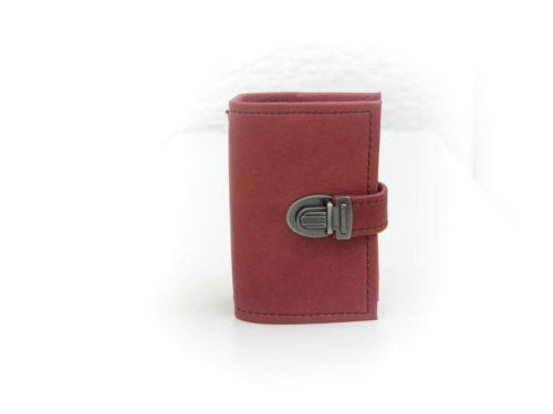Midori A7 rot aus Glattleder