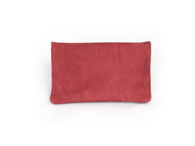 Tabaktasche aus Leder in rot von Nija